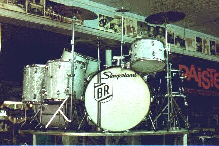 Buddy Rich's drum set © John T. DeStefano 2001